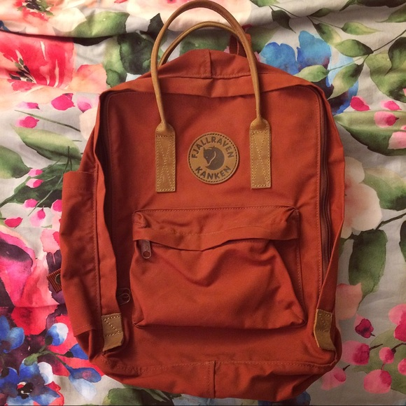 store coupon code presenting fjallraven autumn leaf backpack