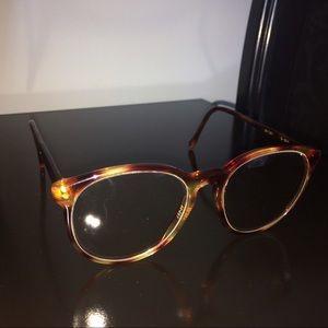vintage retro cheetah leopard prescription glasses