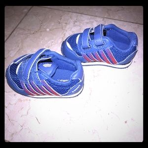 K-Swiss Other - K Swiss  NWOT  Blue & Red  Infant Shoes  Size 3