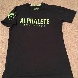 Alphaletes Black/Lime Performance Tee