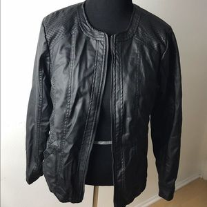 Outer Edge Jackets & Blazers - Outer Edge NWT faux leather jacket