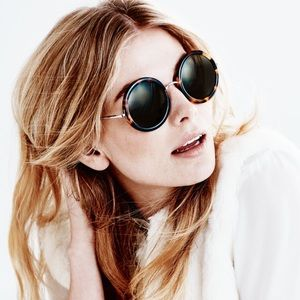 The Row Accessories - The Row | Linda Farrow signature round sunglasses