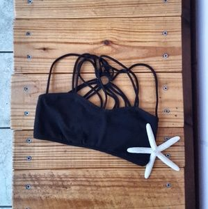 free people • strappy front and back bra