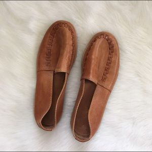 Vintage Shoes - Vintage Leather NWOT Loafers Slides - Unisex
