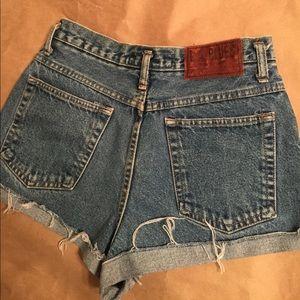 Levi's Pants - 90's super high waist cutoff Jean shorts waist 28