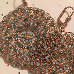 Catherine Popesco Jewelry - Catherine Popesco Large Earrings Pacific Opal New