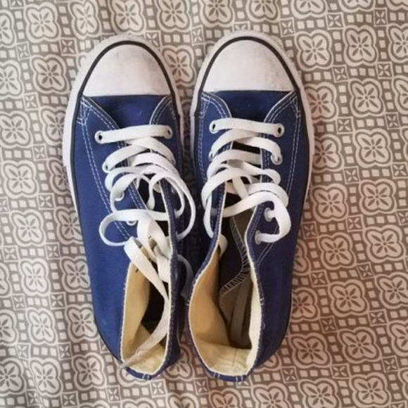 a956ca5b1025 NEW Boys blue high top converse chucks size 3