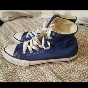 976c3b5f3f73 Converse Shoes - NEW Boys blue high top converse chucks size 3