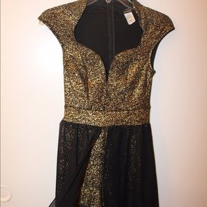 Cameo Dresses & Skirts - High-low Sparkly Romper