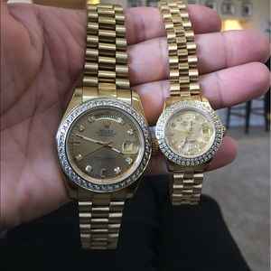 Accessories - Presidential Rolex his & hers