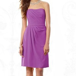 After Six Dresses & Skirts - After Six purple dress sweetheart wrap bridesmaid
