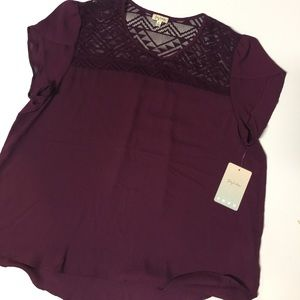 Lily White Tops - NWT Lily White Dressy Top