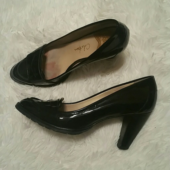 3537e24df17 Cole Haan Shoes - GUC! Cole Haan Nike Air Womens Penny Loafer Heels