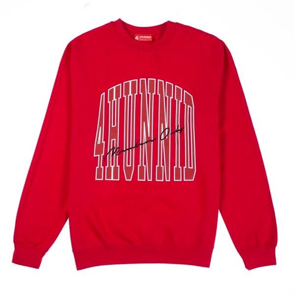 0d6c081327d yg 4hunnid members only crewneck sweater