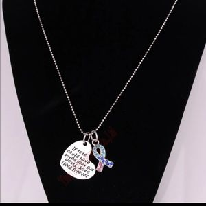 In memory of a lost child necklace
