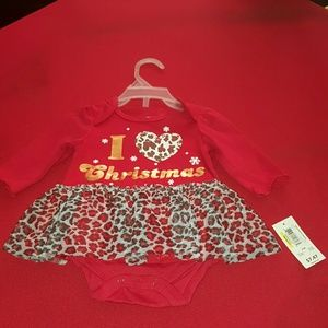 Other - newborn baby beautiful Christmas dress