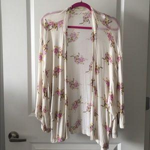 Urban Outfitters Floral Kimono