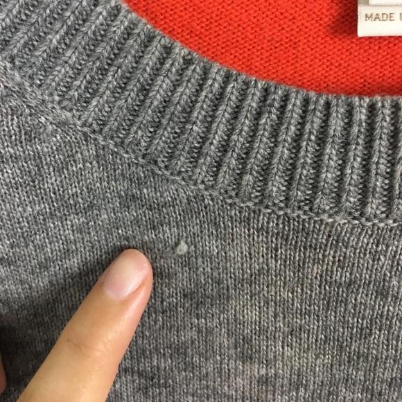 Factory colorblock elbowpatch sweater vests