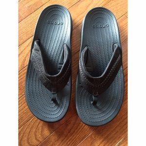 CROCS Other - Men's Croc Flip Flops