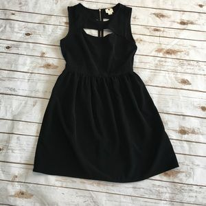 one clothing Dresses & Skirts - One Clothing - Black Cut Out Dress.