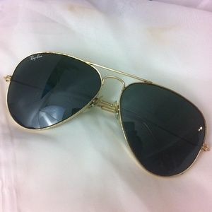 Ray-Ban Accessories - 1970's Ray-Ban aviator glasses