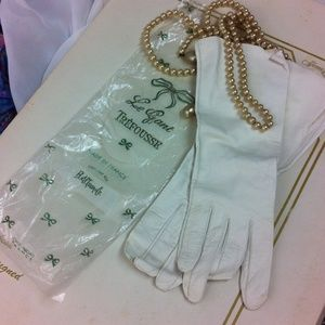 B. Altman & Co Accessories - Vintage 1950's made in France gloves