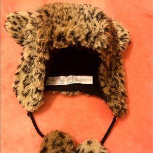 Children's Place Other - Leopard Faux Fur Cat Ears Hat 🐯