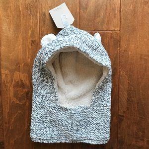 Zara Other - Zara Kids Accessories Ears Sweater Hood Hat