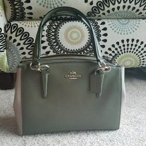 Coach Handbags - Coach leather crossbody bag