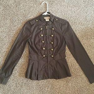 Paris Blues Jackets & Blazers - Green military jacket
