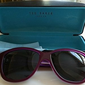Ted Baker Accessories - Ted Baker purple polarized sunglasses