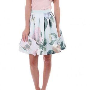 Ted Baker Dresses & Skirts - Ted Baker Maari Disringuishing Rose Skater Skirt