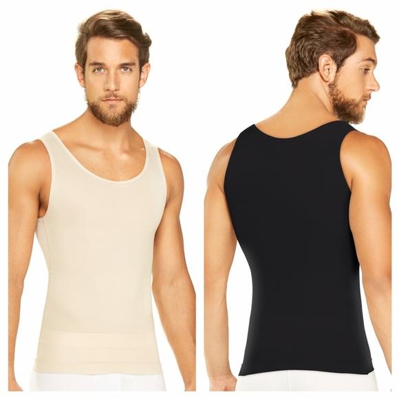 e0eb2647666ba4 Men Lessening Undershirt with Tummy Control