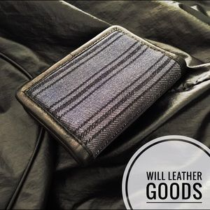 Will Leather Goods Other - WILL LEATHER GOODS Men's Genuine Leather Wallet