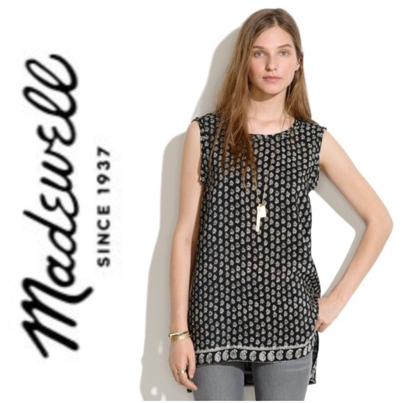 Madewell Tops - Madewell Muscle Top in Moroccan Floral