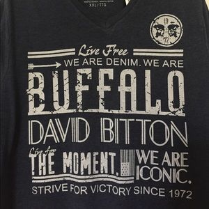 Buffalo Other - BUFFALO Men's V-Neck Tee