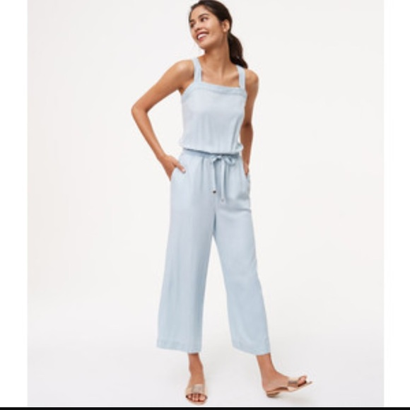 78404f46d5c LOFT Pants - LOFT Chambray Jumpsuit