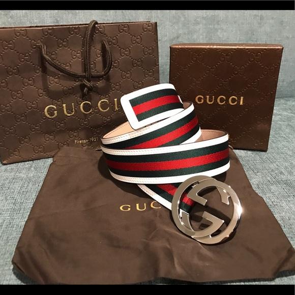 gucci belt red and green estudio81es