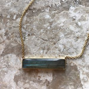 Argento Vivo Jewelry - Argento Vivo Gold Bar Necklace
