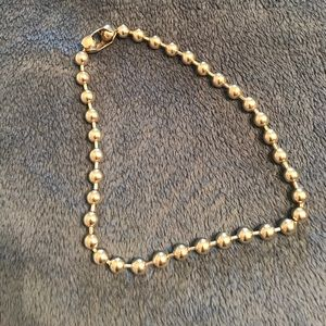 Vintage 90s ball chain necklace