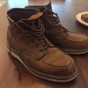 Red Wing Shoes Other - Red Wing 6 Moc Toe Copper Boots