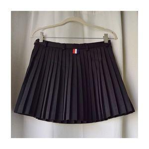 Thom Browne Dresses & Skirts - Thom Browne Pleated Mini Skirt