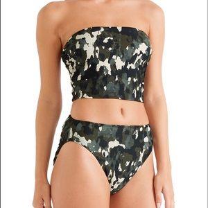 Norma Kamali Other - Norma Kamali Bishop Camouflage Bikini Size S