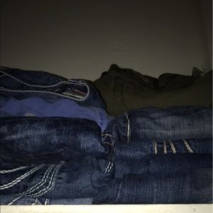 Other - Lots of true religion jeans size 36 $80 each pair