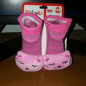 Other - cute kitten animal infant socks