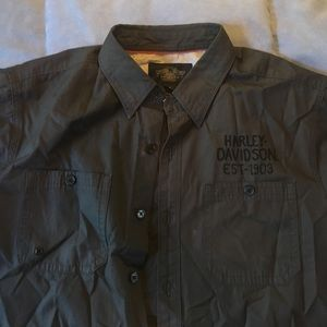 Harley-Davidson Other - H-D black Label SS button down
