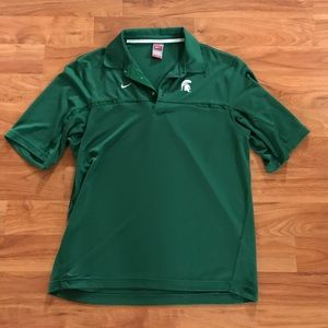 Nike Other - Michigan State Nike fit dry men's polo