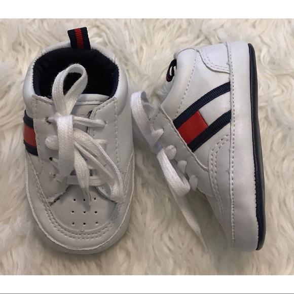 c2f2333db46a22 Tommy Hilfiger Baby Shoes Size 2. M 594d3b0778b31c6181015bd0