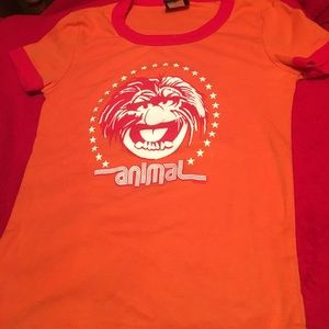 "Mighty Fine Tops - Muppets ""Animal"" Graphic Tee XS"