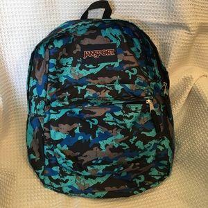 Jansport Other - NWOT JanSport Classic Backpack Blinded Blue Camo